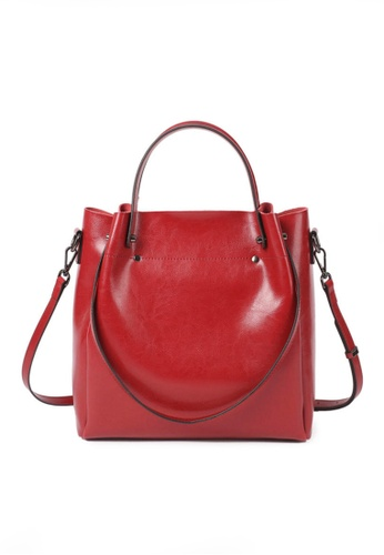 Twenty Eight Shoes red VANSA Simple Design Hand Bag   VBW-Hb2107 C9FB4ACD1CAE6BGS_1