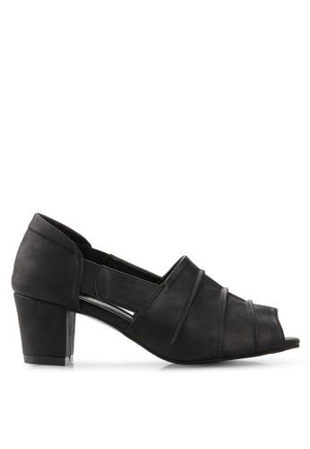 Victoria black Monthreal Mid-Low Heels VI289SH84DSLID_1