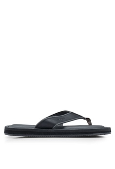 69628d28a3ca ALDO black Norewiel Thong Sandals 8E362SH302F341GS 1