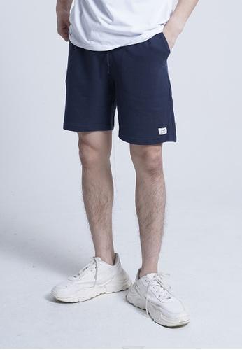 SUB navy Men Knit Short Jogger 92AD9AA0CF4115GS_1