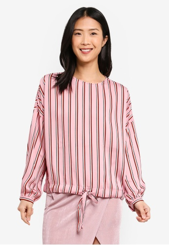 1d8468b510f20 Buy Vero Moda Katlyn Tie Top Online on ZALORA Singapore