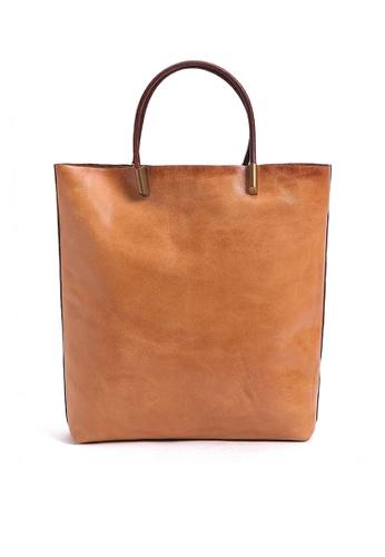 Twenty Eight Shoes Vintage Cow Leather Tote Bags QY8749 9C3E6AC6A9670FGS_1