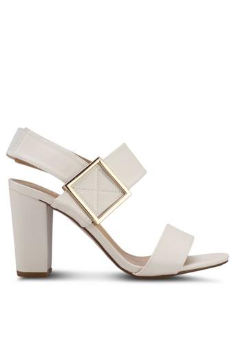 Something Borrowed white Block Heel Sandals 628DASHDC5DD82GS_1