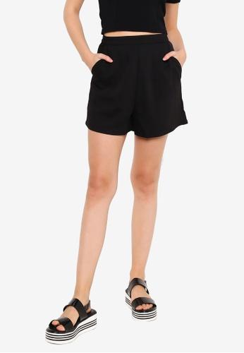 Supre black Dakota Tailored Shorts B2CF8AA086A331GS_1