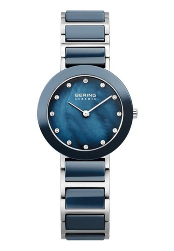 Bering blue Ceramic 11429-787 Mother Of Pearl 29 mm Women's Watch 25343AC227F93AGS_1