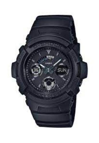 CASIO black Casio G-Shock Black Resin Watch AE7CFACEFD35FFGS_1