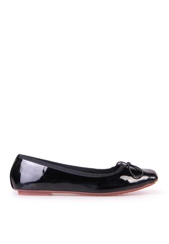 Sunnydaysweety 黑色 限量秒殺品 - 氣質新款小蝴蝶結小方頭舒適平底鞋C12211BK SU395SH0908YTW_1