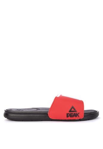 PEAK black S20181RB Men's Tr7 Terrence Romeo Sports Slides Sandals E98C8SHDF32B81GS_1