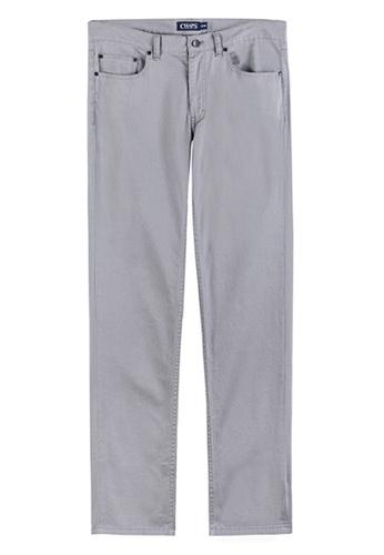 Chaps grey Chaps 5-Pocket Pants CH325AA07PZGMY_1