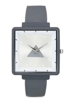 Square Silicon Watch