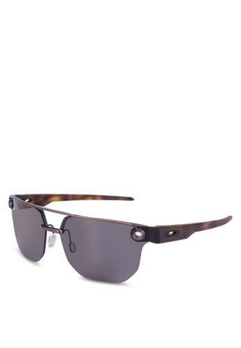Oakley 多色 六角形太陽眼鏡 A4AFEGL3043775GS_1