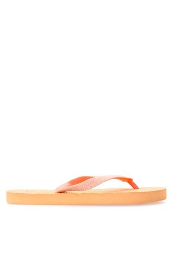 BENCH orange Basic Rubber Slippers BE550SH58LVLPH_1