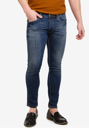 1cc04936063fd6 Shop threads by the produce Stretch Skinny Jeans Online on ZALORA  Philippines
