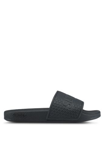 Slydes black Cali Sandals 0115FSH519C2C1GS_1