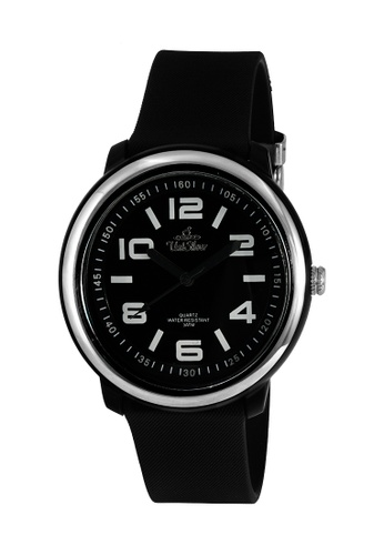 UniSilver TIME black Men's Cooledge Analog Rubber KW2007-2011 Watch UN802AC0KTDJPH_1