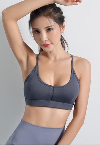 HAPPY FRIDAYS Women's Light Support Sports Bra DK-WX11 7CC40AA508EA1EGS_1