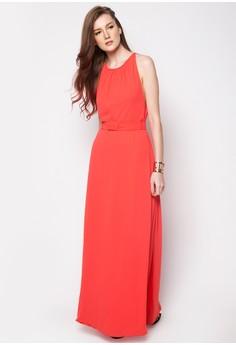 Formal Open Back Long Maxi Dress