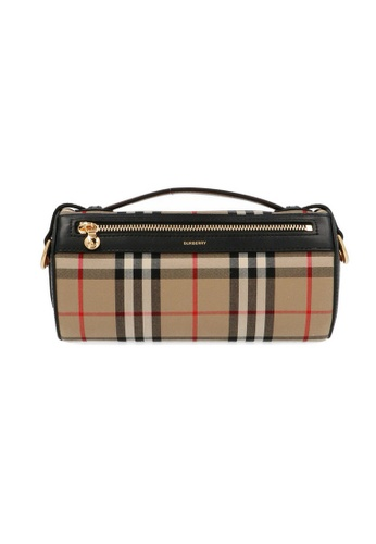 Burberry brown Burberry The Vintage Check Crossbody Bag in Archive Beige/Black F8C27ACD4DF324GS_1