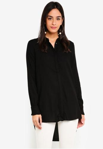 Vero Moda black Astrid Long Shirt C1FB4AAF36EA86GS_1