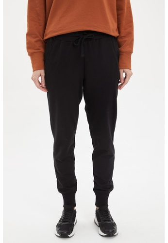 DeFacto 黑色 Woman Knitted Trousers E3A64AAF938D58GS_1