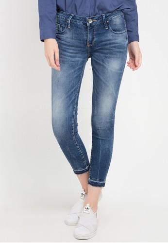 "Logo Jeans blue Skinny C5 Series 26"" Mid Waist D5A38AA83D01E1GS_1"