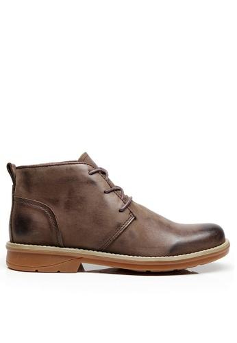 Twenty Eight Shoes Vintage Leather Boots M8008-1 032ADSH2B5E3E3GS_1