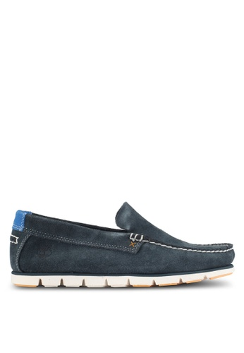 Timberland navy Tidelands Venetian Shoes 0C67DSH32830AEGS_1