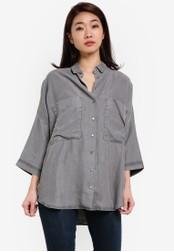 Selected Femme grey Maggie Shirt SE157AA0RRJRMY_1
