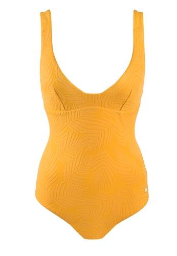 Sunseeker yellow Minimal Cool One-piece Swimsuit EA9C4US69FFA47GS_1