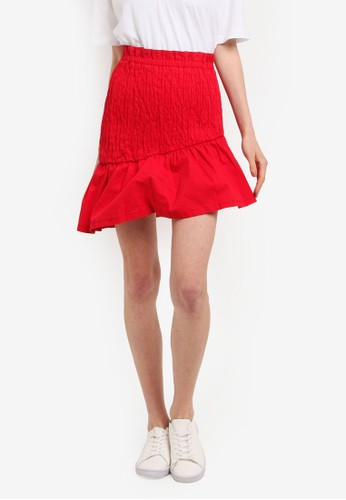 The Fifth Label red Upland Skirt TH664AA0SVINMY_1