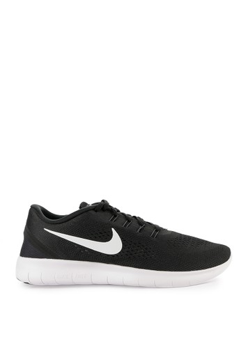 Nike black and multi Nike Free Rn Shoes E7F16SHC6032F8GS_1