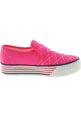 Maxstar pink Maxstar Women's C30 Stitched Platform Canvas Slip On Shoes US Women Size MA164SH02FLXSG_1
