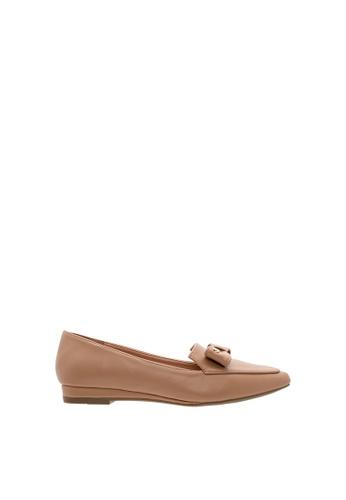 SEMBONIA brown Women Suede Ballet Flat 5F9AESHC810E50GS_1