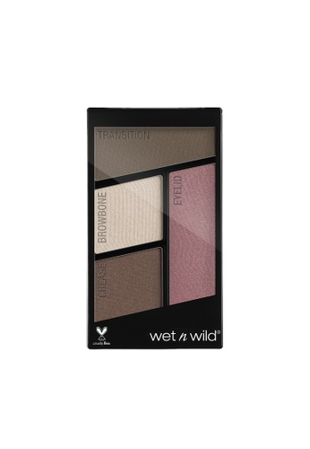 Wet N Wild Wet n Wild Color Icon Eyeshadow Quad - Sweet as Candy AD8F1BE4C95720GS_1