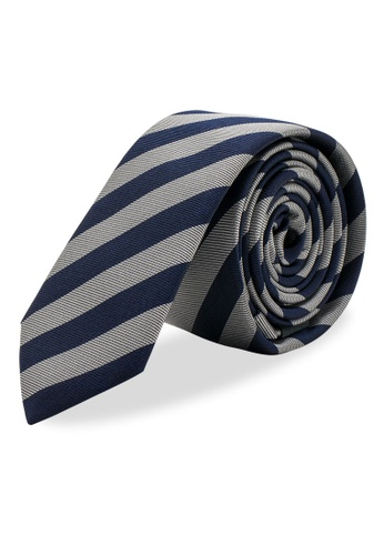 Arden Teal multi Uberaba Skinny Silk Tie 9CD32AC016AC44GS_1