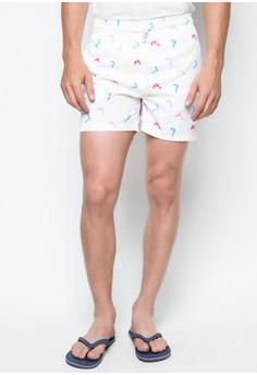 Multi-Colored Toucan Swim Shorts