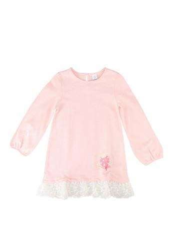 LC Waikiki pink Baby Girl's Cotton Dress FCC34KA2D5EB1EGS_1