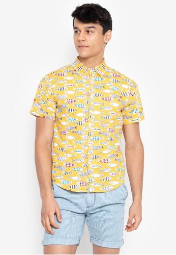 541b7022ec9a1 Shop Chase Fashion Something Fishy Polo Button Down Shirt Online on ZALORA  Philippines