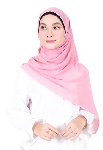 Ava Moony pink Ivy Scarf F848EAA01B86ACGS_1