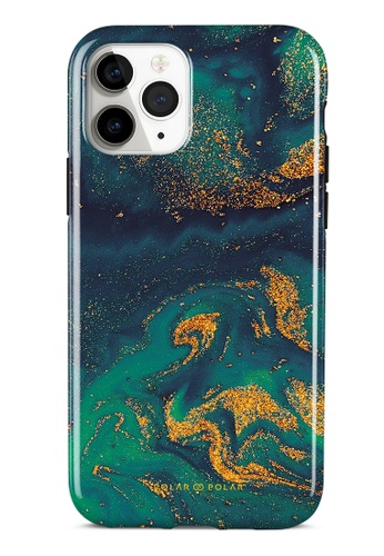 Polar Polar green Green Night Quicksand Dual-Layer Tough Case Glossy For iPhone 11 Pro F1031AC87F119EGS_1