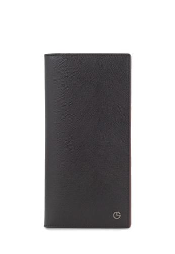 Goldlion Textured Leather Long Wallet 68D17AC2507D5EGS_1