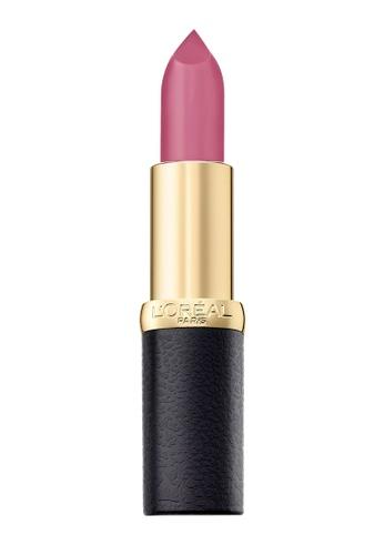 L'Oréal Paris red L'Oreal Paris Color Riche Matte 274 Mauve Petal 99593BE7E1FD26GS_1