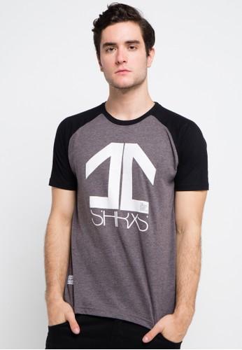 SHARKS multi and grey Short Sleeve T-Shirt SH473AA0VMG6ID_1
