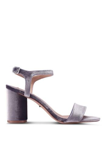 ONLY grey Balsa Heeled Sandals 48E4CSH61F9A15GS_1