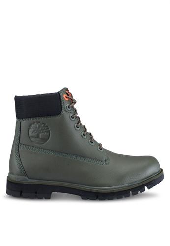 Timberland green Radford Rubberized 6 inch Waterproof Boots E306FSHBDCA18CGS_1
