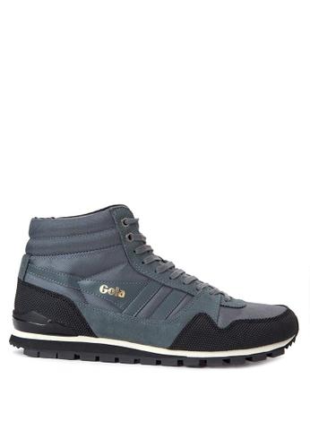 Gola grey Ridgerunner High II Sneakers GO513SH51TQQPH_1