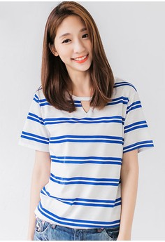 Simple Stripes Staple Tee