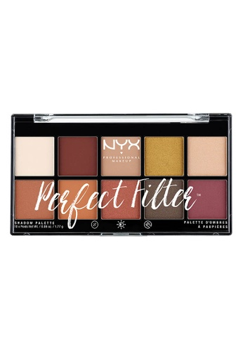 NYX Professional Makeup multi NYX Professional Makeup Perfect Filter Shadow Palette- RUSTIC ANTIQUE 5BBEBBE56A5C83GS_1