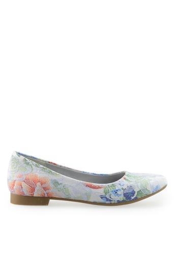 Footspot multi FOOTSPOT - Square Toe Flats 5BEABSHC456299GS_1