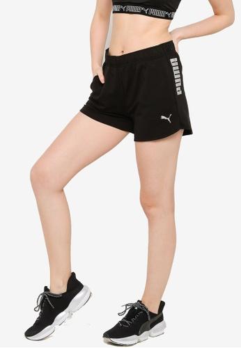 PUMA black RTG Women's Shorts 7DD2CAADFE62CCGS_1